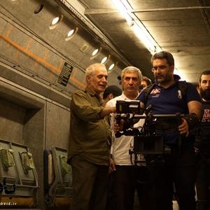 نمایی از پشت صحنه فیلم «بادیگارد»