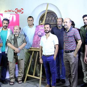 عباس غزالی در نمایی از فیلم «قیچی»