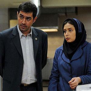 دیبا زاهدی و شهاب حسینی در فیلم پنج ستاره