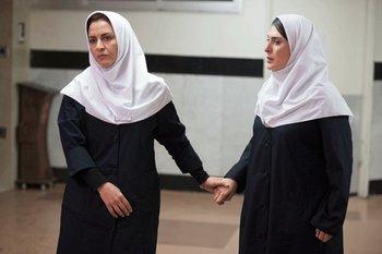 بهناز جعفری و مریلا زارعی در نمایی از فیلم «گیتا»