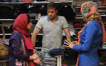 نمایی از فیلم «هفت ماهگی» با بازی احمد مهرانفر
