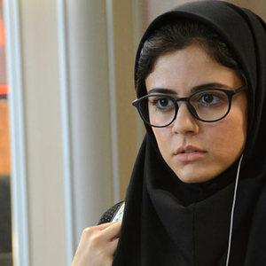 ماهور الوند در نمایی از فیلم «دختر»