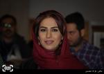 تینا پاکروان در اکران فیلم «نیمه شب اتفاق افتاد» در کاخ سی و چهارمین جشنواره فیلم فجر