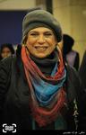 گوهر خیراندیش در اکران فیلم «نیمه شب اتفاق افتاد» در کاخ سی و چهارمین جشنواره فیلم فجر