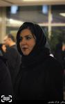ستاره اسکندری در اکران فیلم «نیمه شب اتفاق افتاد» در کاخ سی و چهارمین جشنواره فیلم فجر