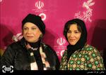گوهر خیراندیش و ستاره اسکندری در فرش قرمز سی و چهارمین جشنواره فیلم فجر