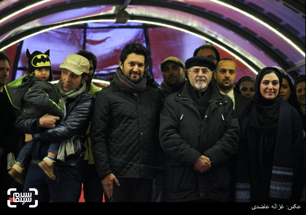 اکران فیلم «هفت ماهگی» در کاخ سی و چهارمین جشنواره فیلم فجر
