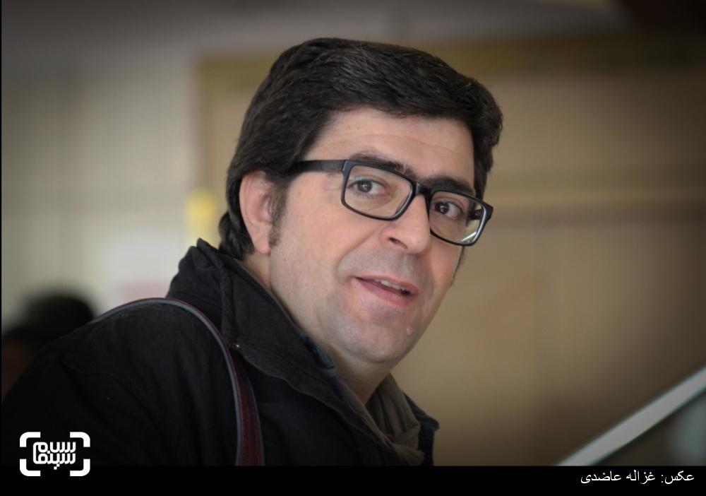 مجید برزگر در اکران فیلم «نیمرخ ها» در کاخ سی و چهارمین جشنواره فیلم فجر