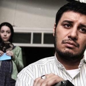 جواد عزتی و نازنین بیاتی در فیلم سینمایی «فرشته ها با هم می آیند»