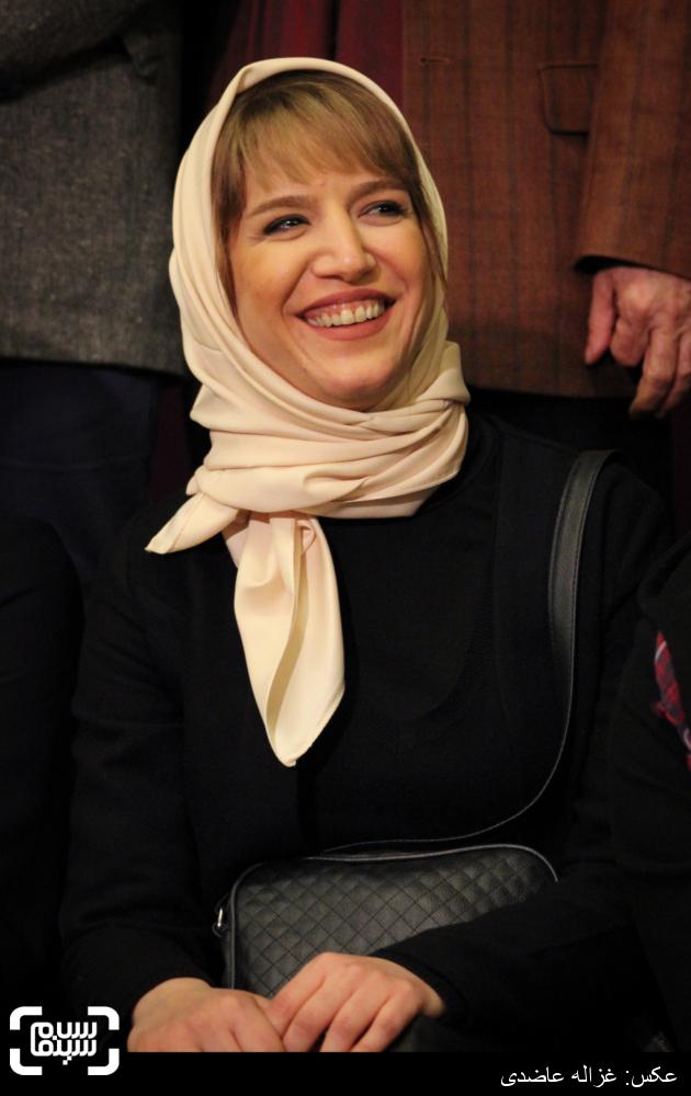 ستاره پسیانی در اکران فیلم «لانتوری» در کاخ سی و چهارمین جشنواره فیلم فجر