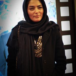 الهام حاج فتحعلی در اکران فیلم «چهارشنبه» در کاخ سی و چهارمین جشنواره فیلم فجر
