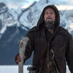لئوناردو دیکاپریو در نمایی از فیلم «بازگشته»