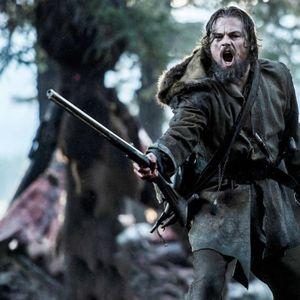 لئوناردو دیکاپریو در نمایی از فیلم سینمایی «بازگشته»(The Revenant)