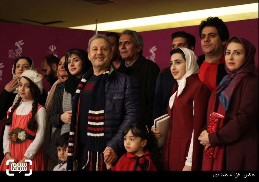فرش قرمز فیلم «یتیمخانه ایران» در کاخ سی و چهارمین جشنواره فیلم فجر