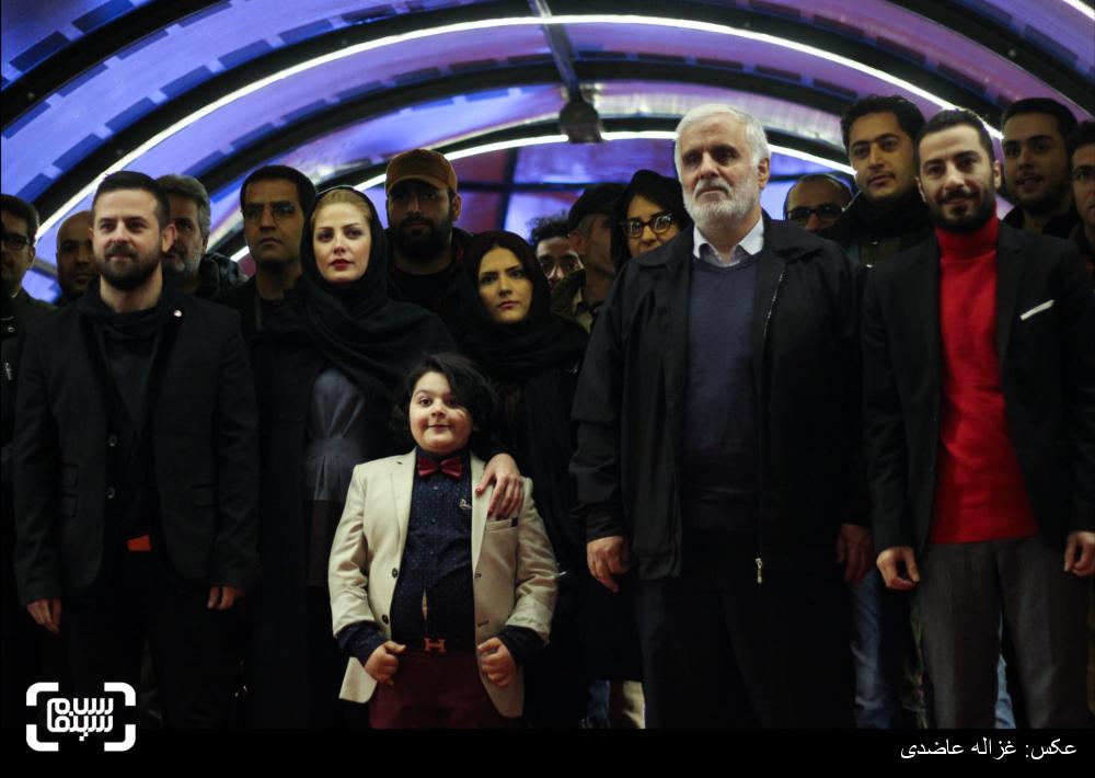 فرش قرمز فیلم «خشم و هیاهو» در کاخ سی و چهارمین جشنواره فیلم فجر