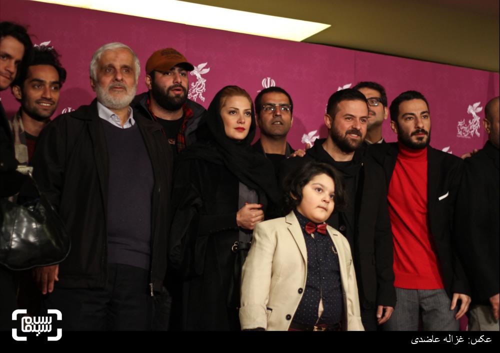 اکران فیلم «خشم و هیاهو» در کاخ سی و چهارمین جشنواره فیلم فجر