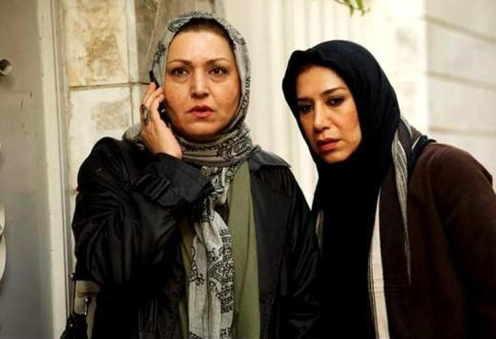 فریبا خادمی و نسیم ادبی در فیلم حراج