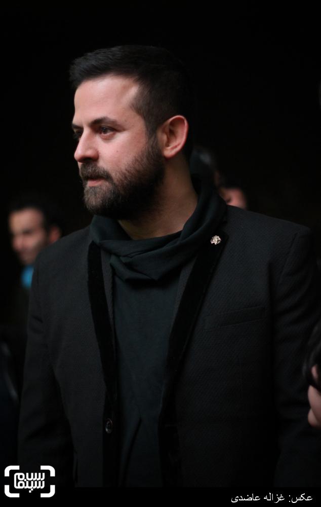 هومن سیدی در اکران «خشم و هیاهو» در سی و چهارمین جشنواره فیلم فجر