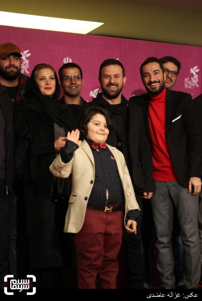 فرش قرمز «خشم و هیاهو» در کاخ سی و چهارمین جشنواره فیلم فجر