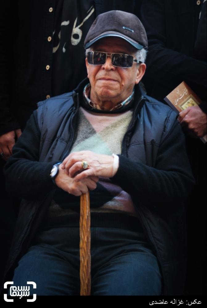 محسن قاضی مرادی در اکران فیلم «گاهی» در کاخ سی و چهارمین جشنواره فیلم فجر