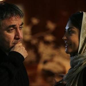 شقایق فراهانی و سيامك انصاری در فیلم خانوم