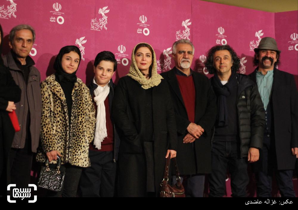 اکران فیلم «به دنیا آمدن» در کاخ سی و چهارمین جشنواره فیلم فجر