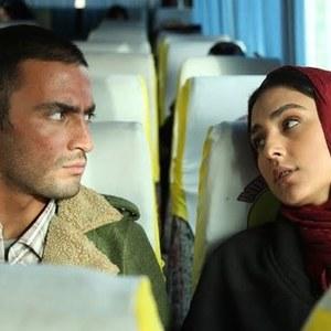 امیر جدیدی و هدی زینالعابدین در نمایی از فیلم «پایان خدمت» ساخته حمید زرگرنژاد