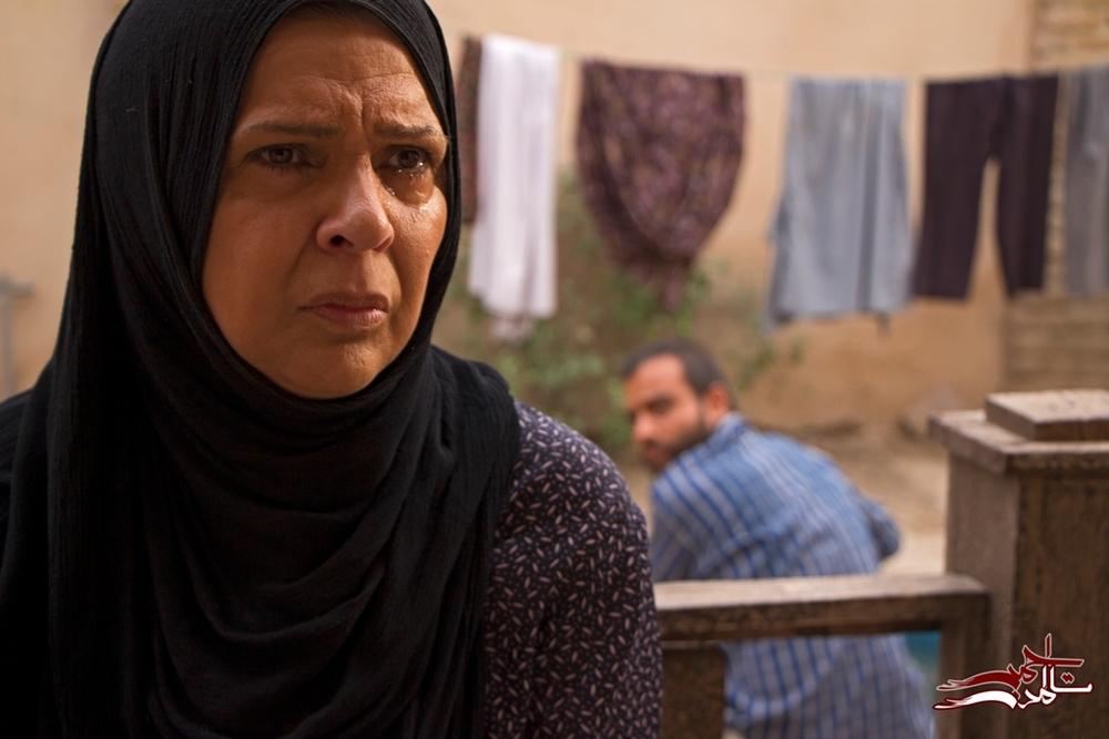 افسر اسدی در نمایی از فیلم «تا آمدن احمد»
