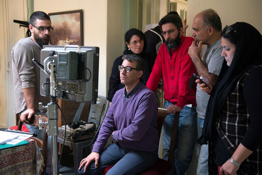 نمایی از پشت صحنه فیلم «نزدیکتر»