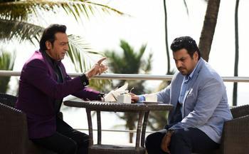 نمایی از فیلم «سلام بمبئی» محصول مشترک ایران و هند