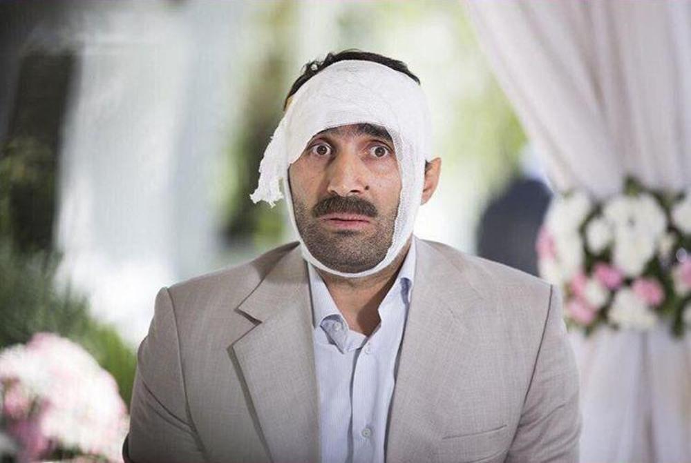 هادی کاظمی در فیلم «پنجاه کیلو آلبالو»