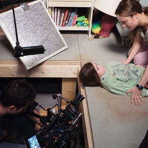 نمایی از پشت صحنه فیلم «اتاق»(Room)
