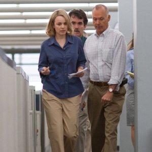 مایکل کیتون و ریچل مک آدامز در فیلم «افشاگر»(spotlight)