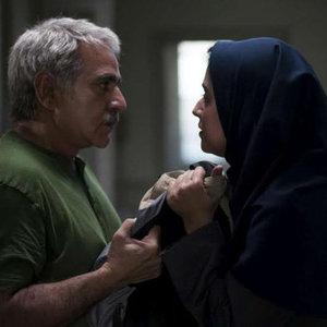 پرویز پرستویی و سوگل خلیق در نمایی از فیلم «دو»
