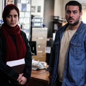 پریناز ایزدیار و محسن کیایی در نمایی از فیلم «یک روز بخصوص»
