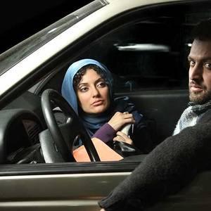 مهناز افشار و مصطفی زمانی در نمایی از فیلم «قصه پریا»