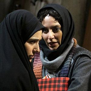 مهناز افشار و باران کوثری در نمایی از «قصه پریا»