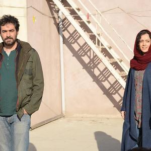 ترانه عليدوستى و شهاب حسینی در نمایی از فیلم «فروشنده»(the sales man)