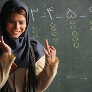 سحر دولتشاهی در نمایی از فیلم «دونده زمین» ساخته کمال تبریزی