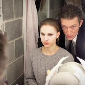 ونسان کسل و ناتالی پورتمن در نمایی از فیلم «قوی سیاه»(black swan)