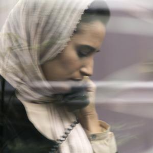 نگار جواهريان در نمایی از فیلم «دوئت» ساخته نوید دانش