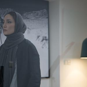 هدیه تهرانی در نمایی از فیلم «دوئت»