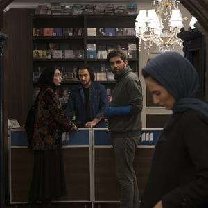 مرتضی فرشباف و هدیه تهرانی در نمایی از فیلم «دوئت»