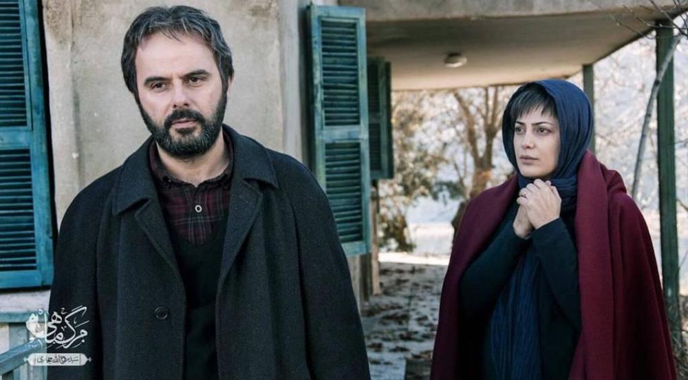 طناز طباطبایی و علی مصفا در نمایی از فیلم «مرگ ماهی»
