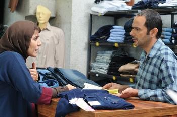 سحر دولتشاهی و علی مصفا در نمایی از فیلم «وارونگی» ساخته بهنام بهزادی