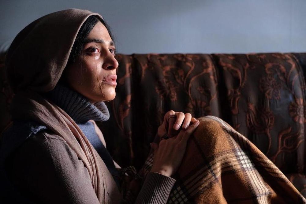 اندیشه فولادوند در نمایی از فیلم «مرداد» ساخته بهمن كامیار