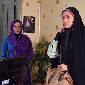 سودابه بیضایی و حدیثه تهرانی در فیلم «پانسیون دختران»