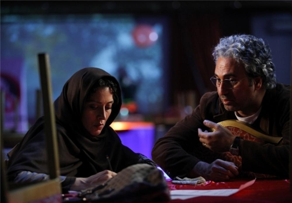 مهتاب کرامتی و حمید فرخنژاد در فیلم «زندگی خصوصی آقا و خانم میم»