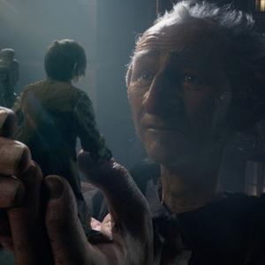 مارک رایلنس در فیلم «غول بزرگ مهربان»(BFG)