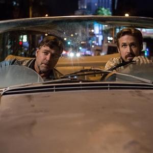 رایان گاسلینگ و راسل کرو در فیلم «مردان خوب»(the nice guys)